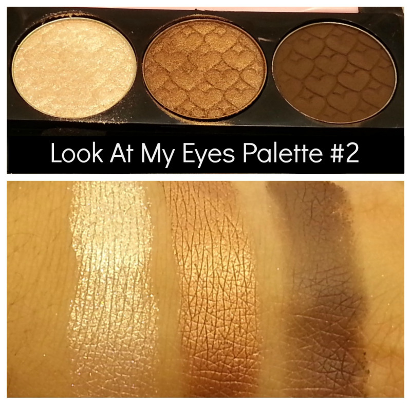 Etude House Look At My Eyes 3 Color Palette Welcome To