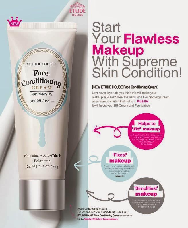 Etude House Face Conditioning Cream | Welcome to Bloggers Korea